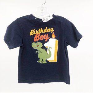 Children's Place First Birthday Tee Dino 12-18 mon